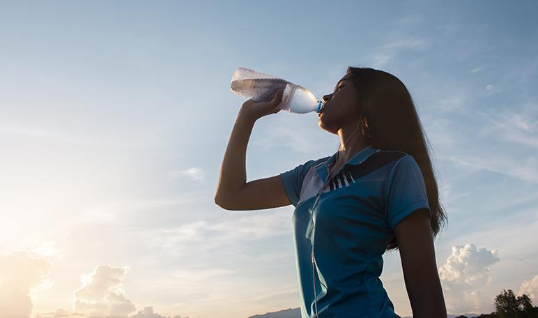 Beber agua - Apréndete