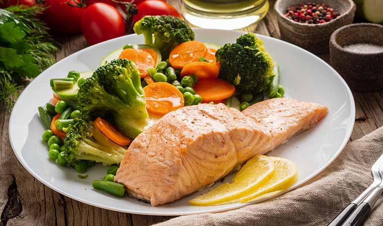 Receta de salmón al vapor con Thermomix - Apréndete