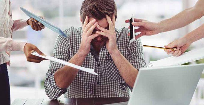 Riesgos del estrés laboral para la salud - Apréndete