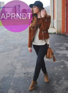 outfit marron
