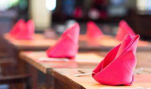 5 ideas geniales para plegar servilletas con origami - Apréndete
