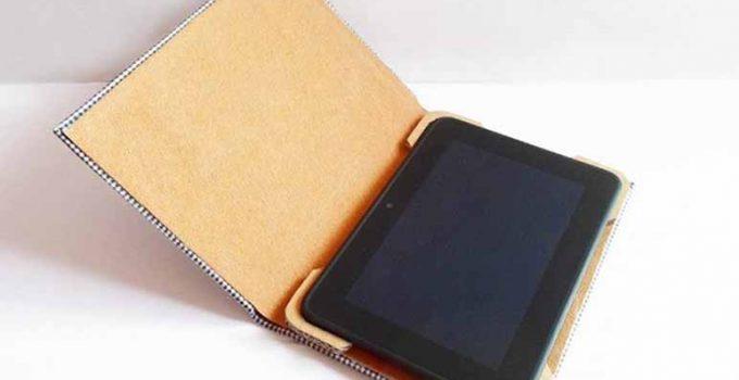Cómo hacer un forro para la tablet - Apréndete