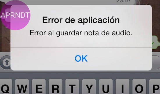 error de descarga whatsapp