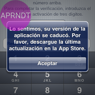 error de verificacion whatsapp