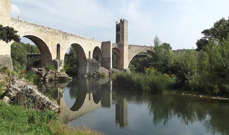 Ruta por pueblos medievales de España - Besalú