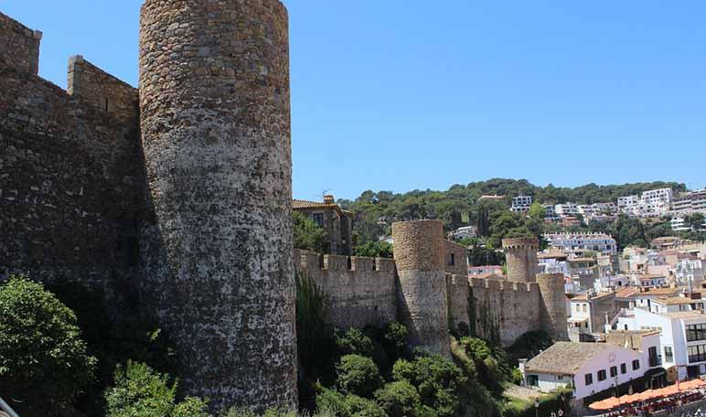 Ruta por pueblos medievales de España - Tossa de Mar