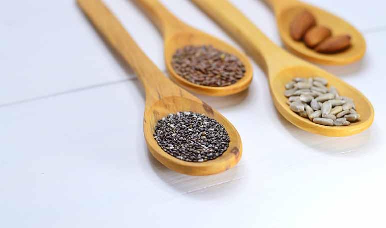 Batido para adelgazar de semillas de chía