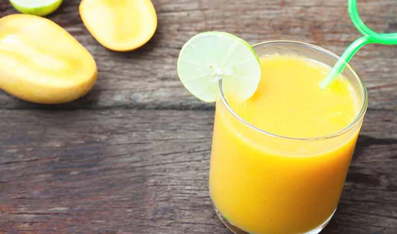 Batido detox de mango para eliminar toxinas - Apréndete